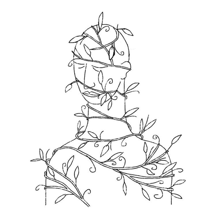 vined - pun, vines, wind, plants - catswilleatyou   ello