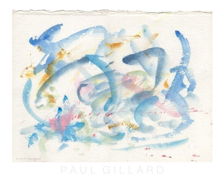 Title: 'Blue Storm' 'original w - paulgillard | ello