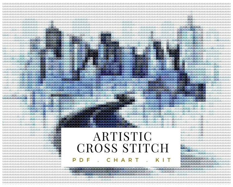 City cross stitch - crossstitch - theartofstitch | ello