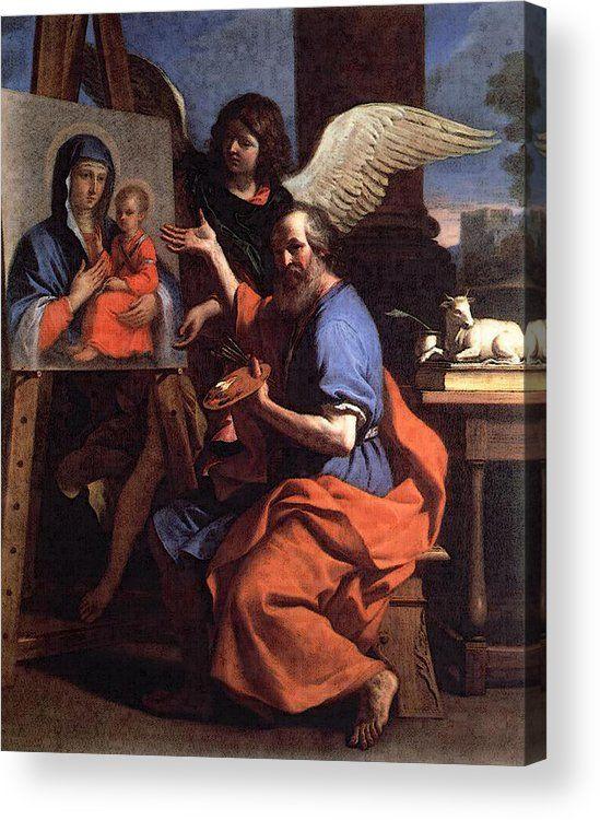 Guercino St Luke Displaying Pai - pixbreak | ello