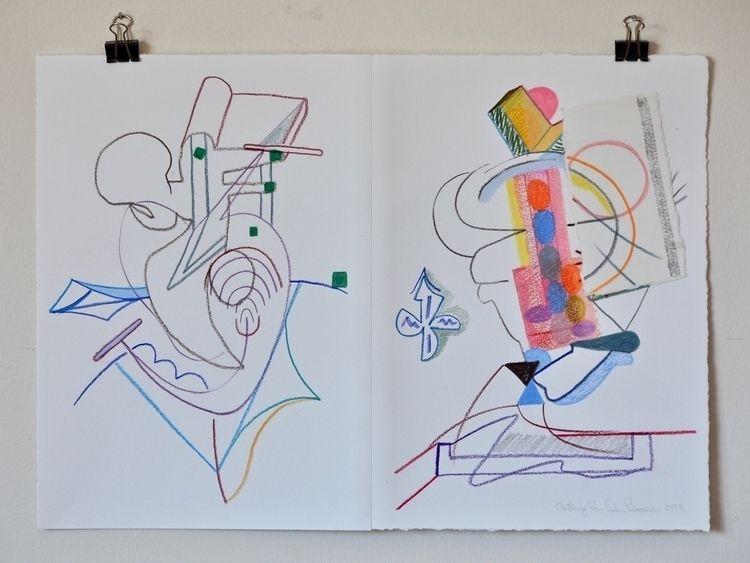 acquired taste 2018, colour pen - tonyvandenboomen | ello