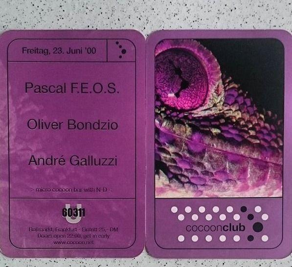 June 23rd 2000 Cocoon U60311 Fr - bondziolino | ello