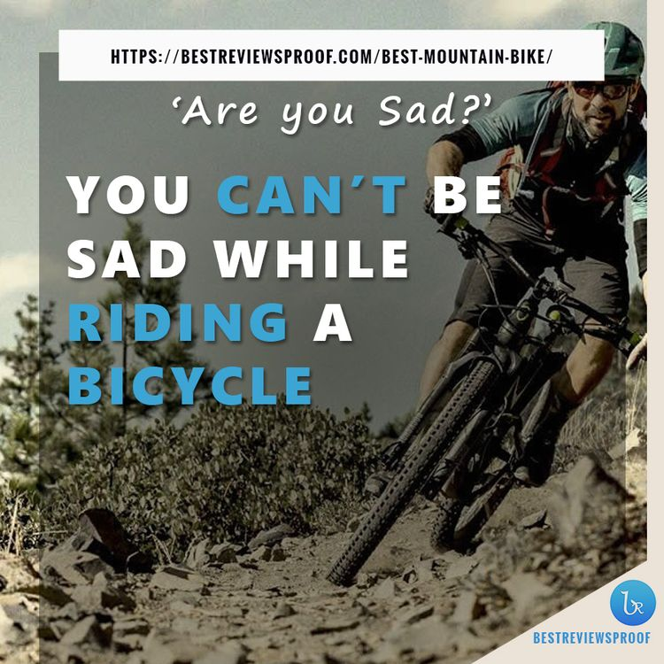 SAD riding bicycle - bestreviewsproof | ello