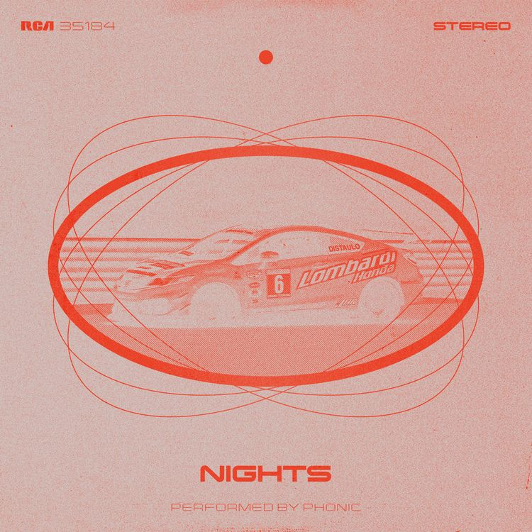 Phonic - Nights Album Cover, Ex - lxcalghost | ello