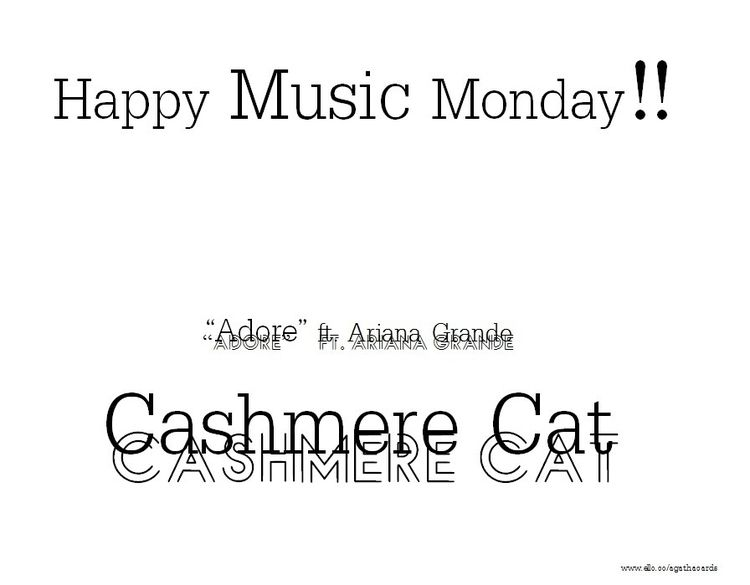 Happy Monday!! Music Monday son - agathacards | ello