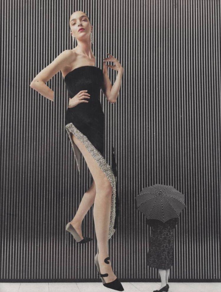 Debut - handmade collage 2017 - fashion - deborahstevensonartist | ello