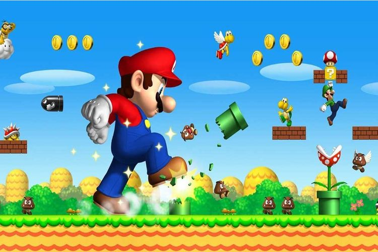 'Super Mario Bros' ready animat - magazishnet | ello
