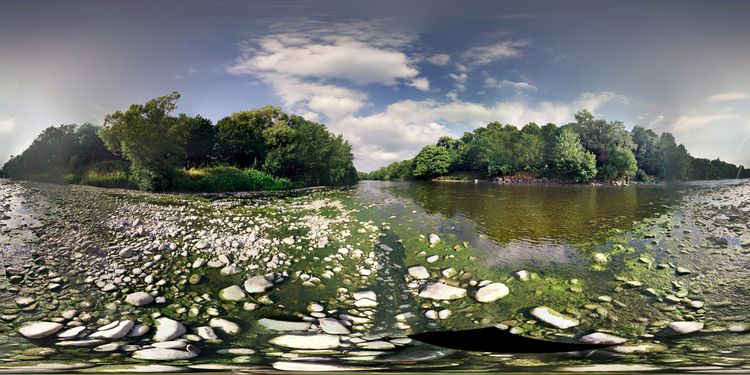 Walking riverbed - tridral   ello