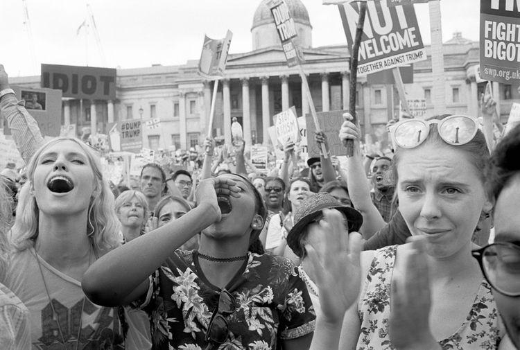 Trump, London 2018. M4 - Leica, Kodak - stanleyomar | ello