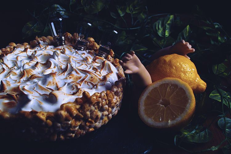 Lemon cake cereal base marshmal - mphotography | ello