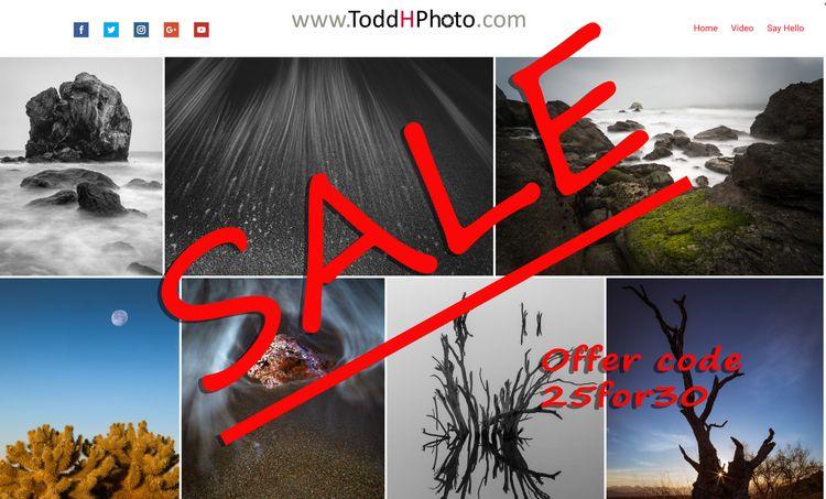 time discount! enter coupon cod - toddhphoto | ello