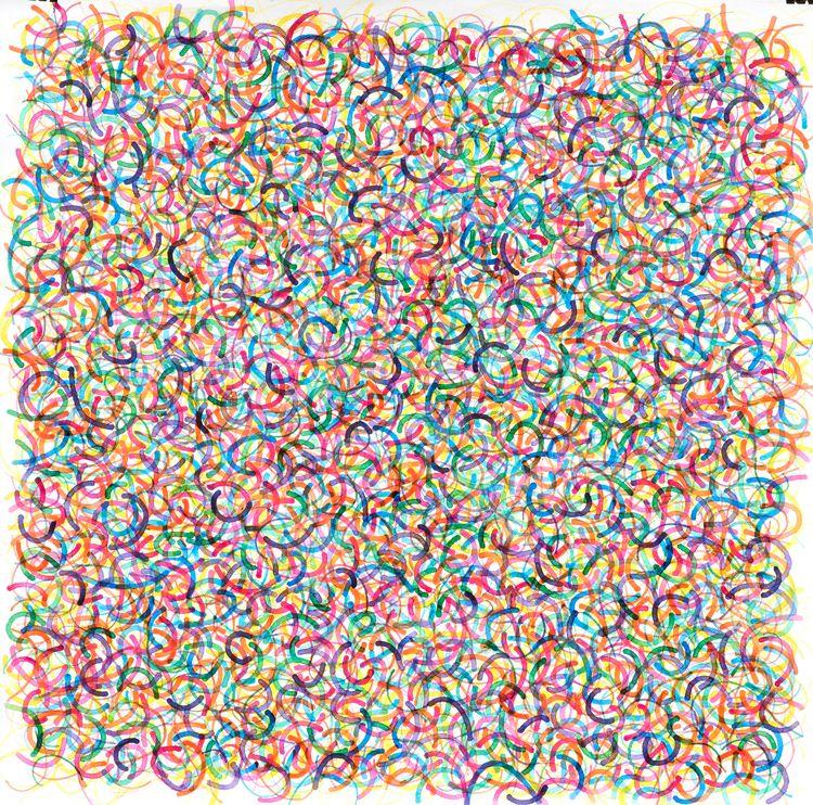 Harlequin, 36 watercolor paper - jklog   ello