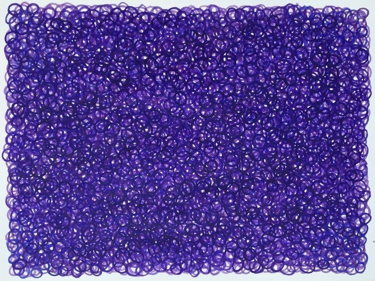 Purple, 22 30 watercolor paper - jklog   ello