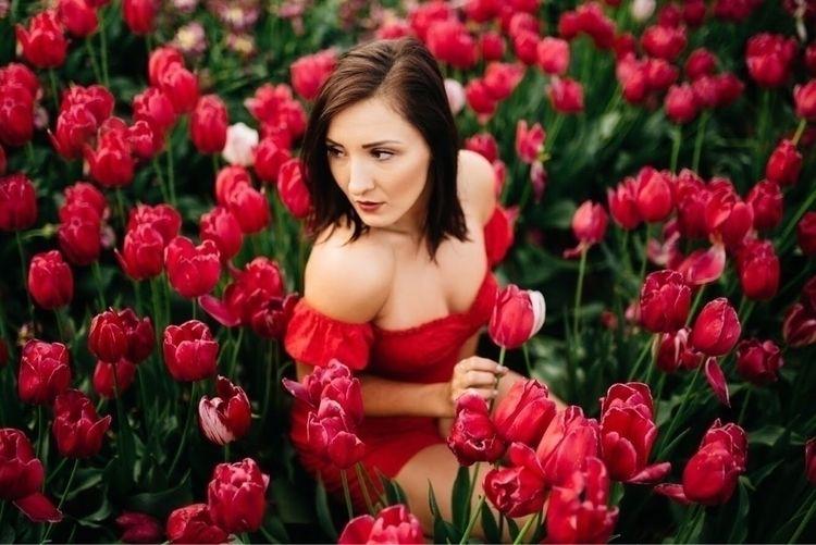Tulips - flowers, portrait, portraitphotography - thelightpalette   ello