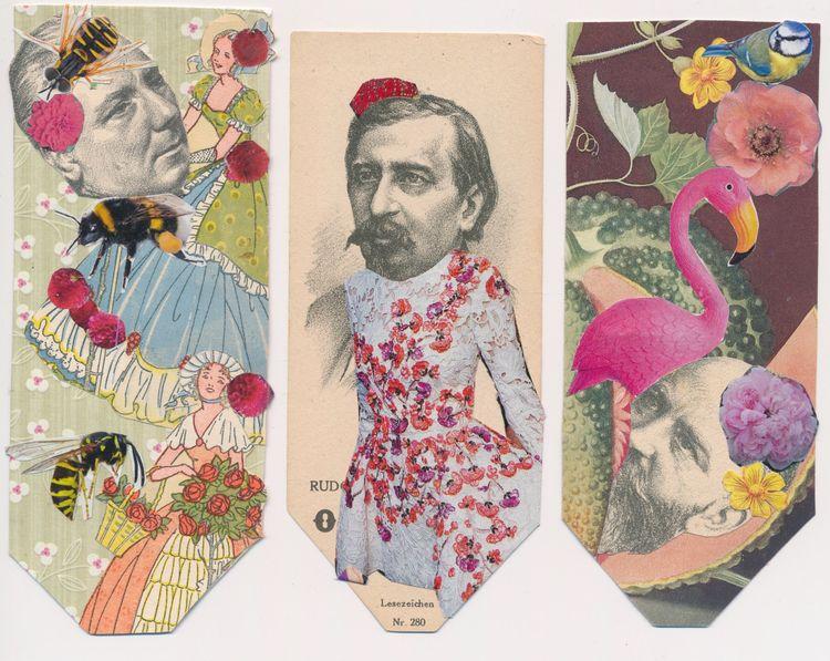 Great heads Fiona Lewis! Check  - papiergedanken-collage-art | ello