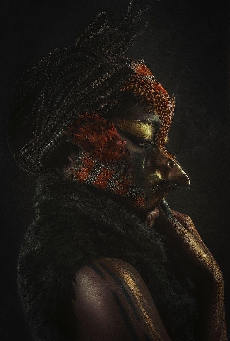 """Woman Bird"" — Photographer: Sa - darkbeautymag | ello"