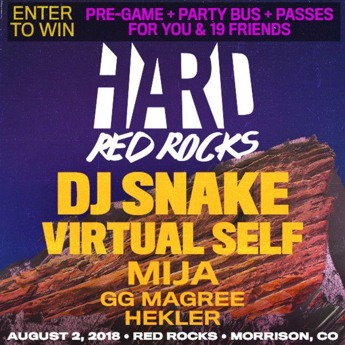 bring 19 friends HARD Red Rocks - thissongissick | ello