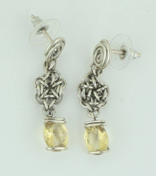 Earrings silver 950 Citrus Ston - mrandmrsmacedo | ello