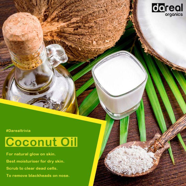 Benefits Coconut Oil Dareal Org - darealorganics | ello