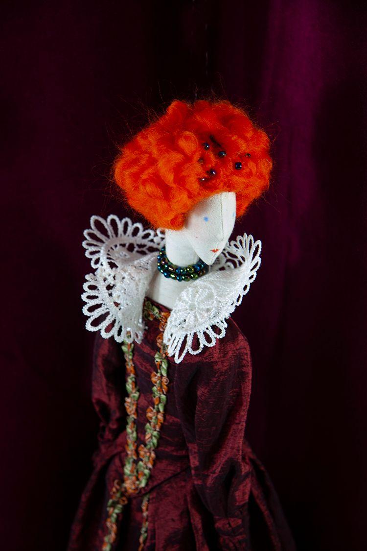 Queen Elizabeth Tudor Art Doll - graziasz | ello