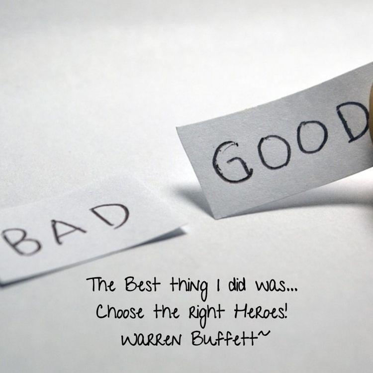 Choose Heroes! Warren Buffett~ - dare2bare   ello