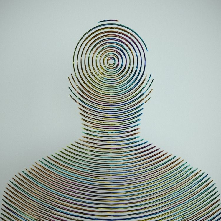 Telepathy - 3D, digital, sculpture - z3rogravity | ello