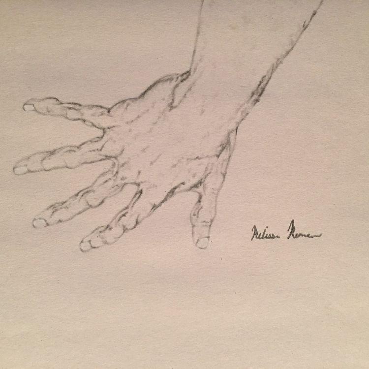 Hand Melissa Romeo Figure Drawi - melissa-m-romeo | ello