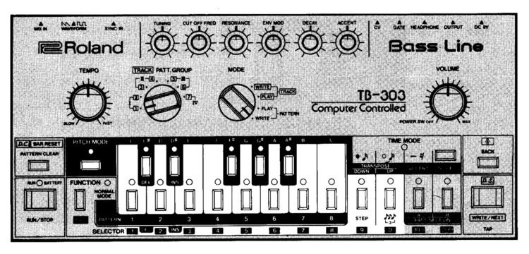 Roland Bass Line TB-303 - design - modernism_is_crap | ello