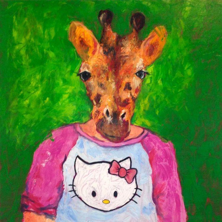 April acrylic canvas 30 1.5 - jennifervonstein | ello