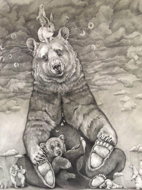 Bear Buddy - Adonna Khare 2018 - adonnakhare | ello
