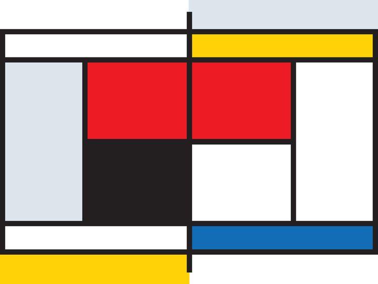 Tennis Court Mondrian, 2018 pos - maxlibpoi | ello