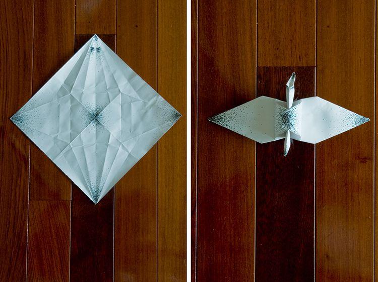 Decorated Cranes - bored fold 1 - johnnytangphoto | ello