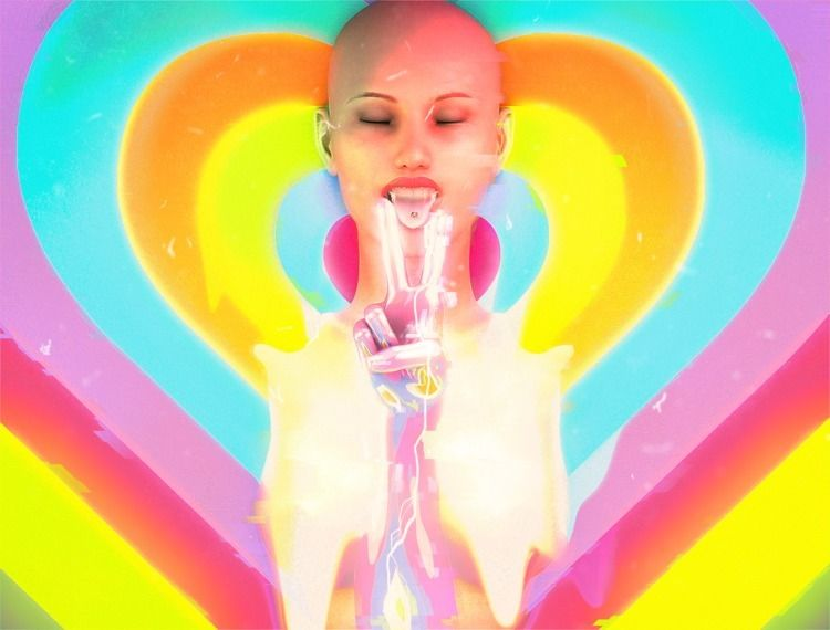 Pryzadelic - prismatis, art, 3d - prismatis | ello