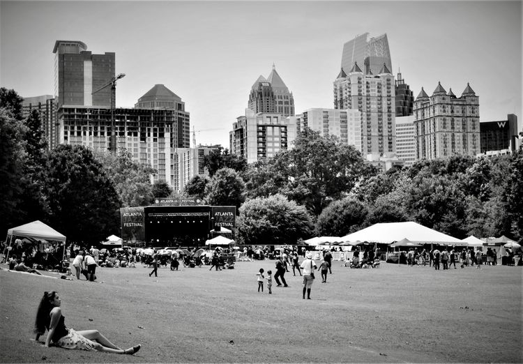 atlanta, jazz, festival, blackandwhite - drewsview74 | ello