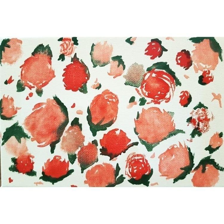 Day 198/365 Garden (canvas bloc - alexsappy | ello