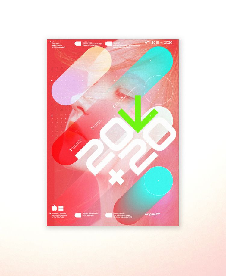 TypeGeist:tm: — Posters / 18  - anthonyneildart | ello