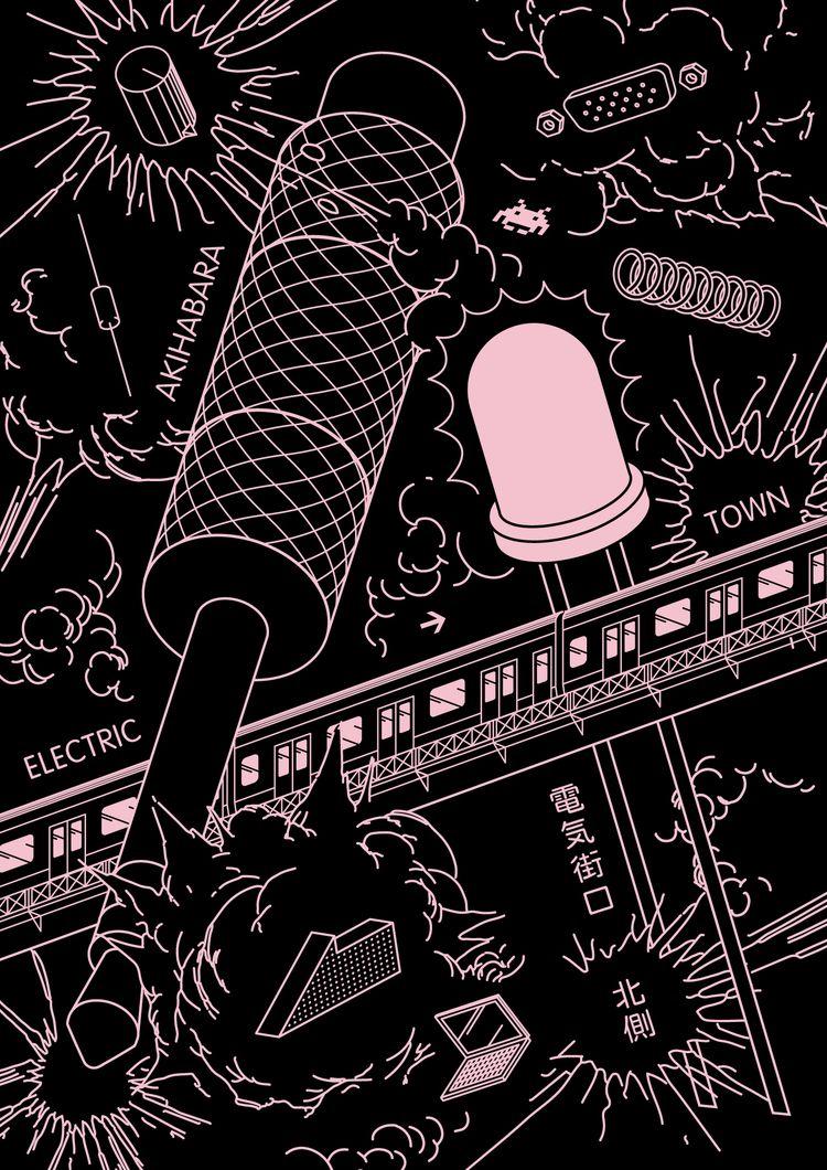 YamanoteYamanote / YY01 Akihaba - wulffgraphics | ello