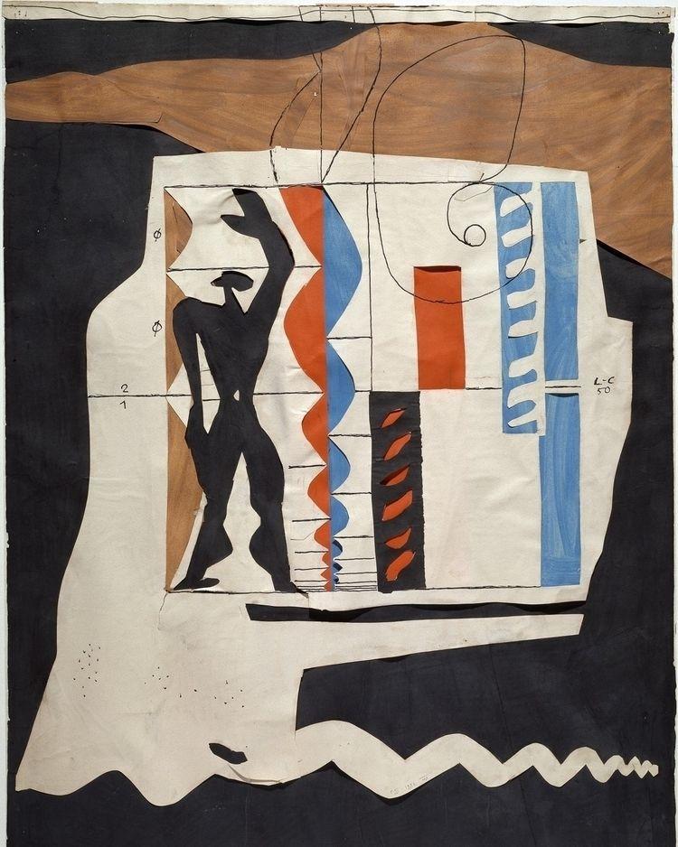 LE MODULOR, 1950. prefer drawin - bauhaus-movement | ello