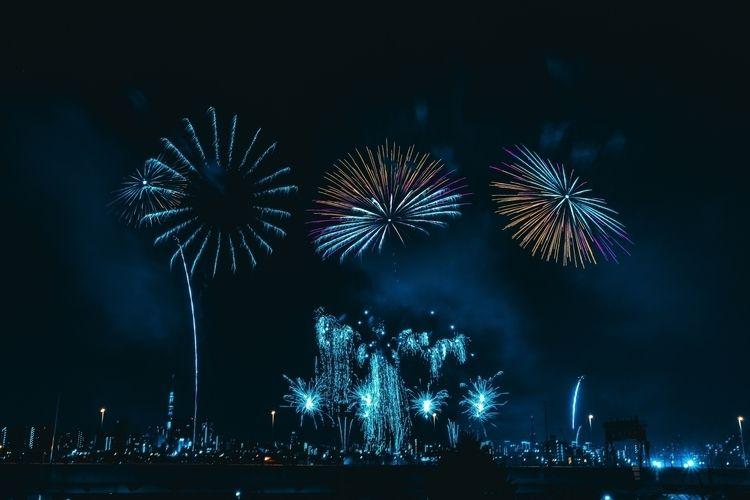 Tokyo Fireworks 2018 - fireworks - taheryasir | ello