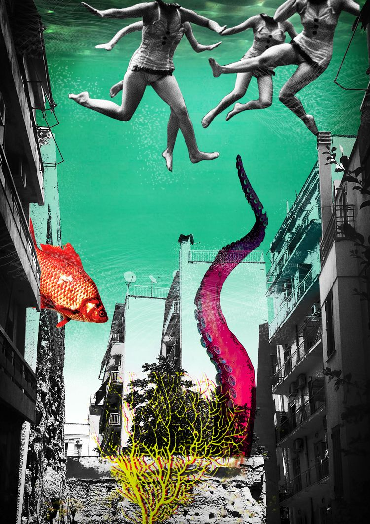 Personal Summer. digital collag - nolongeroutside | ello