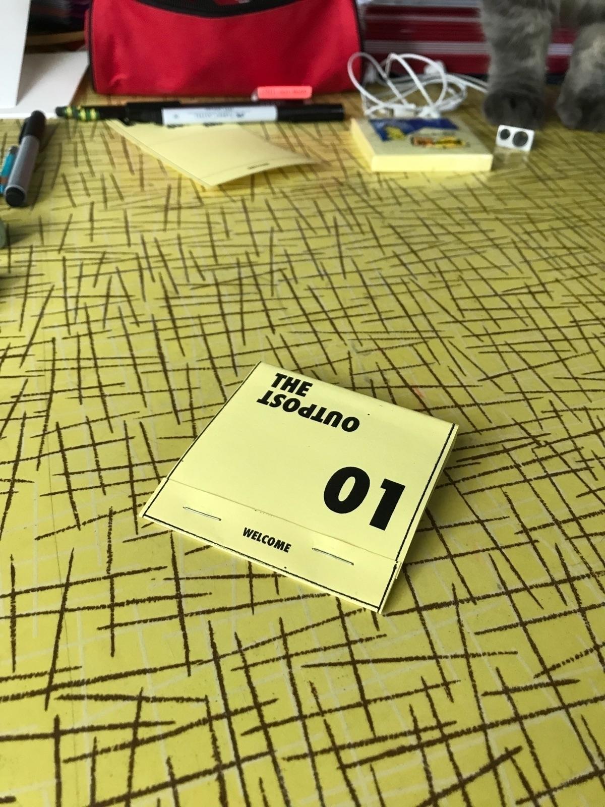 """Post 01"""" 3"""" matchbook thriller  - matthew_castellano   ello"""