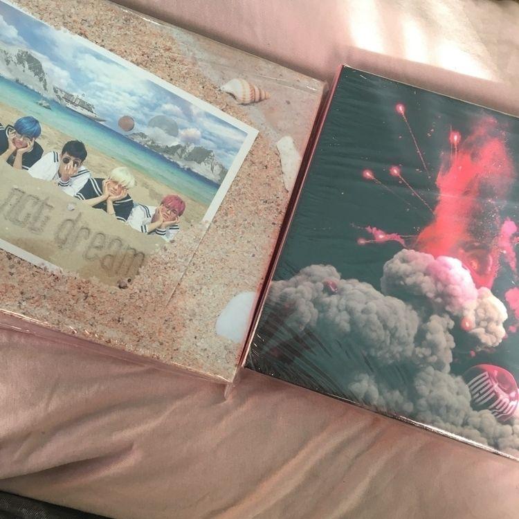 meus álbuns nct chegaram estou  - kwonharu | ello