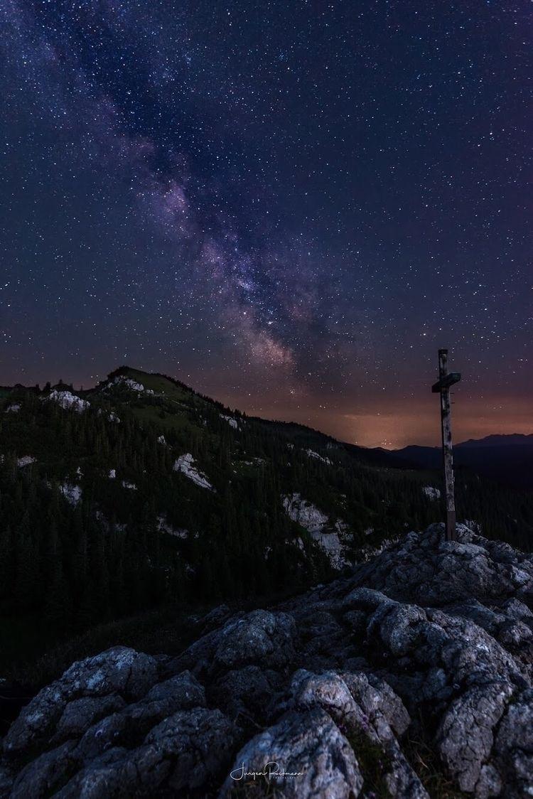 shot top Taubenstein Bavaria - astrophotography - juergenrockmann | ello