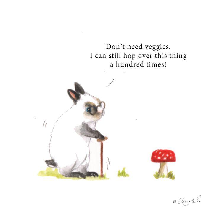 senior bunny denial age - painting - j0eyg1rl | ello