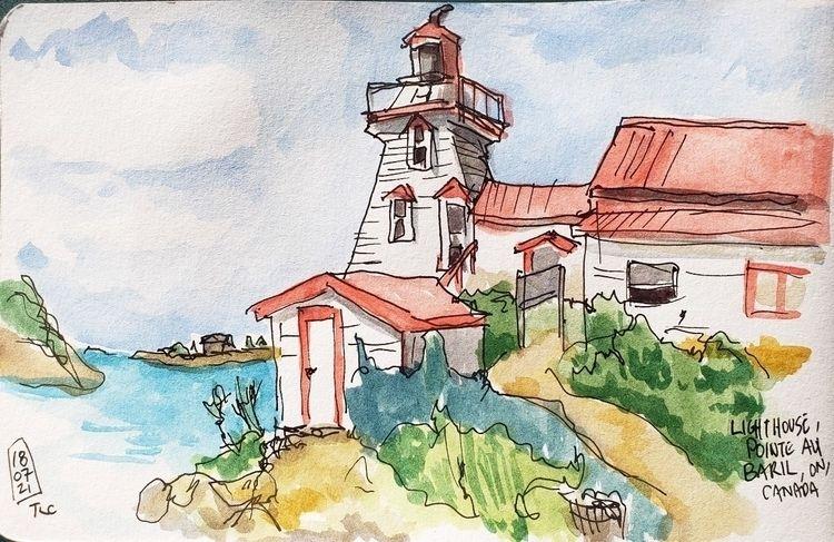 Pointe au Baril lighthouse, Ont - toddpop1 | ello