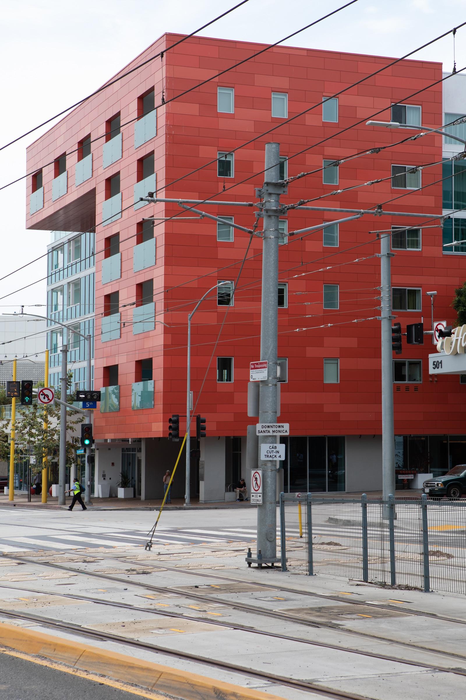 Red Hotel, Colorado Ave, Santa  - odouglas | ello