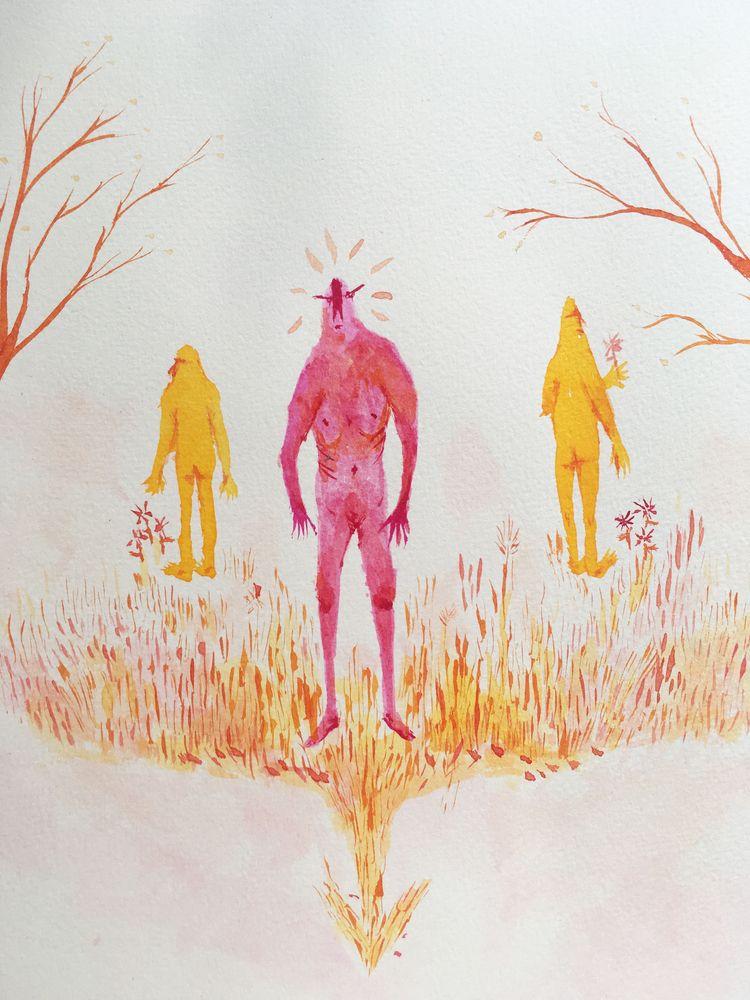 2018, page short illustrated st - lilyaksan | ello
