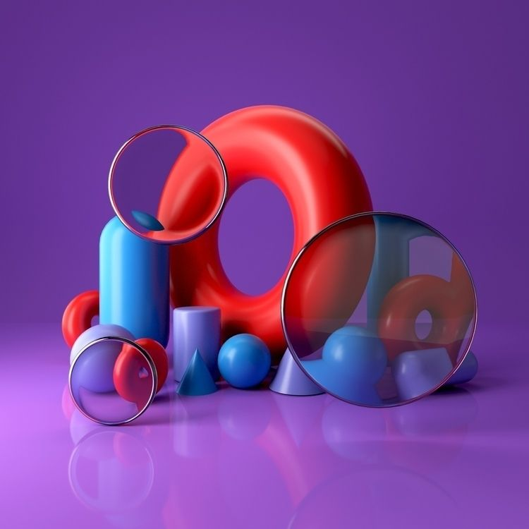 083 - AbstractShiz, cinema4d, design - hashmukh | ello