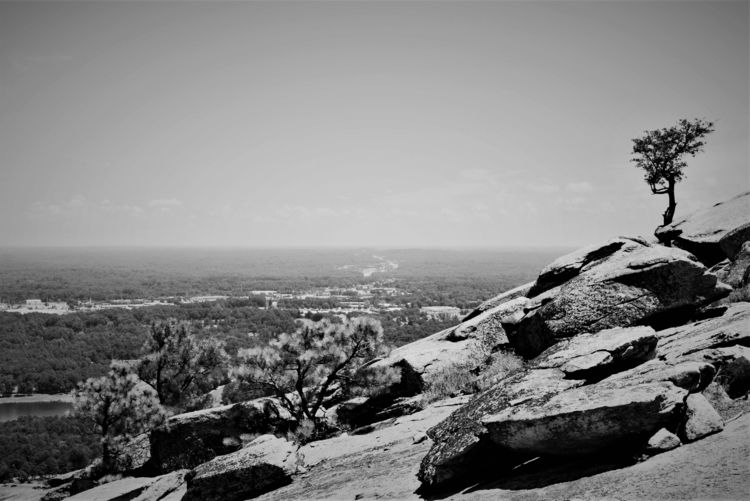 Mountainside - landscape, blackandwhite - drewsview74   ello