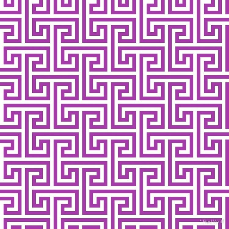 Geometric Pattern: Key Bridge I - red_wolf | ello